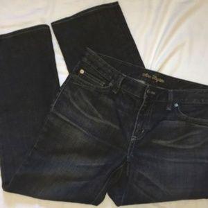 Ann Taylor 6 Modern Fit Lindsay Waist Denim Jeans